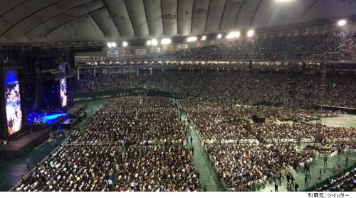 東京ドーム見え方2階席ステージ近く