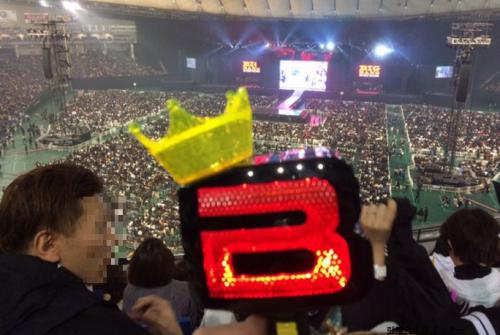 東京ドームスタンド2階見え方BIGBANG