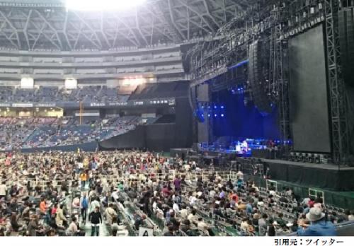 京セラドームスタンド1階席見え方眺め画像ステージ近く1塁側