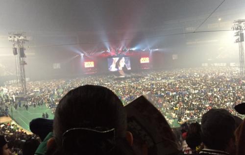 ヤフオクドームスタンド1階席見え方BIGBANG