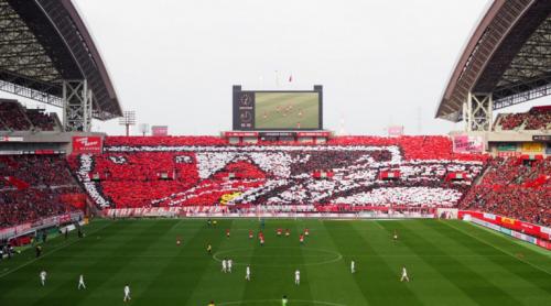 埼玉スタジアムスタンド1階後方サッカー眺め見え方