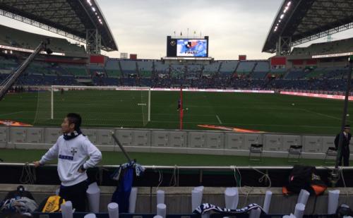 埼玉スタジアムスタンド1階見え方ゴール裏サッカー
