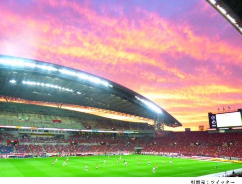 埼玉スタジアム1階スタンド見え方サッカー眺め