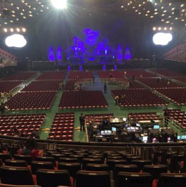 大阪城ホールスタンド1階席見え方