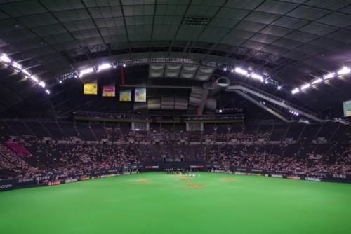 札幌ドームスタンド1階座席見え方画像付き紹介