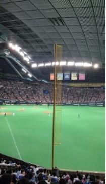 札幌ドームレフト外野指定席見え方