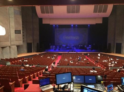 秋田県民会館座席表見え方1階