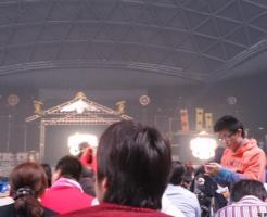 ナゴヤドームアリーナ席ステージ正面見え方