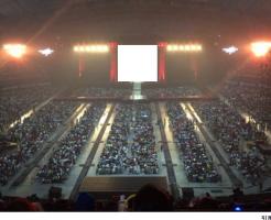 札幌ドーム座席見え方スタンド2階ステージ正面